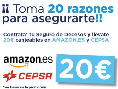 20€ Amazon.es y CEPSA