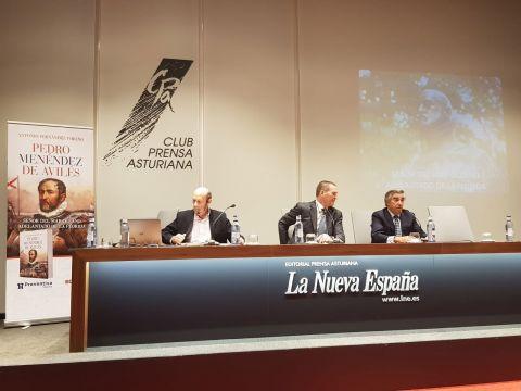 Antonio Fernández Toraño, José Antonio Fossati y Antonio Fernández-Huerga