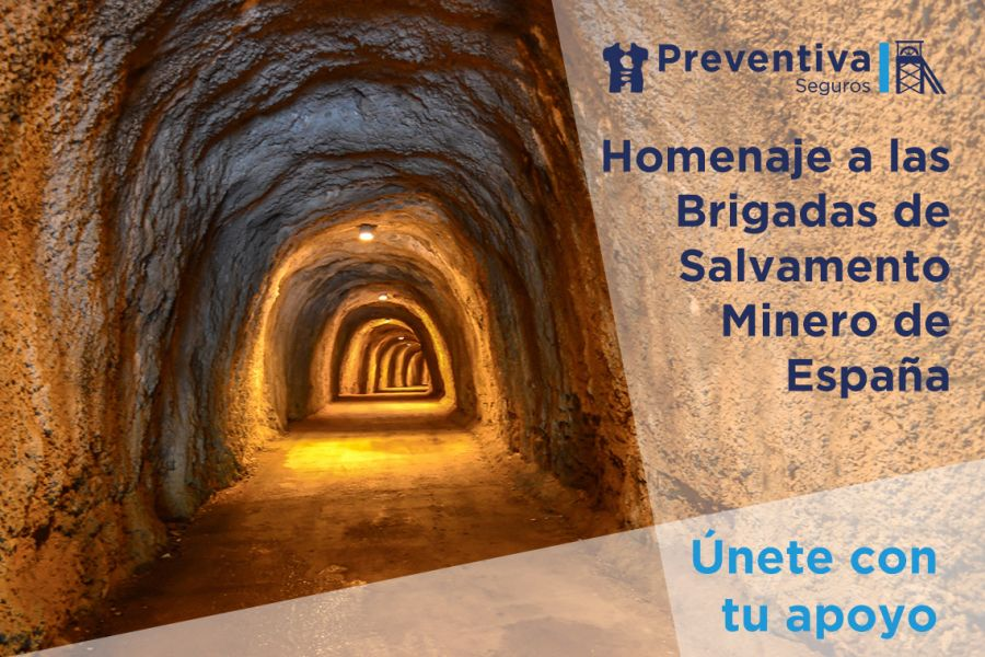 Homenaje de Preventiva a las Brigadas de Salvamento Minero de España