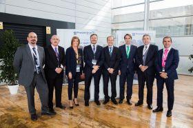 Jose M Martín y el equipo comercial de nuestras sucursales de Valencia, Alicante y Murcia