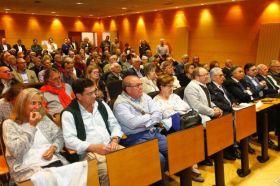 Público en la presentación del libro 'Pedro Menéndez de Avilés'