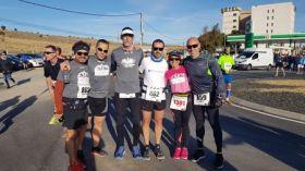 Maratón de Avila con nuestro compañero Ricardo Castellano