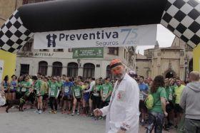 Preventiva presente un año mas en la Carrera solidaria organizada por AECC en Oviedo